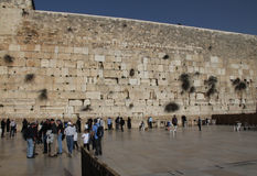 Western wall Royalty Free Stock Images