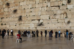 Western wall Stock Images