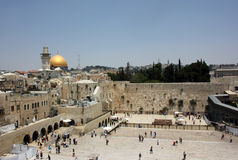 Western Wall Royalty Free Stock Photography