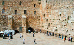 The Western Wall Stock Images