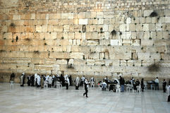 The Western Wall stock photo