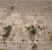 Western Wall. Thw Wailing Wall, Jerusalem. Use as background stock image