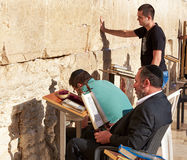The Western Wall also known as Wailing Wall or Kotel in Jerusal Royalty Free Stock Images