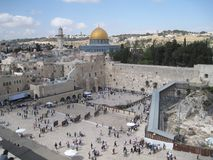 The Western Wall Stock Image
