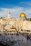 Western Wall and Dome of the Rock, Jerusalem Royalty Free Stock Photography
