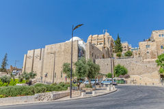 Western Wall entrance, Jerusalem Royalty Free Stock Photos