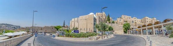 Western Wall entrance, Jerusalem Stock Photography