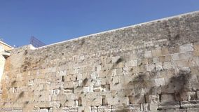 The Western Wall stock footage