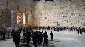 The Western Wall in Israel Royalty Free Stock Photography