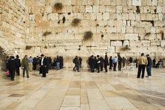 Western Wall in Jerusalem Stock Photo