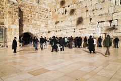 Western Wall in Jerusalem Royalty Free Stock Photography