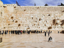 Western Wall in Jerusalem royalty free stock images