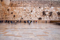 The Western Wall, Jerusalem. Old city Stock Image