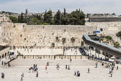 The Western Wall - Jerusalem Stock Image