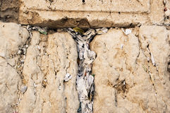 The Western Wall in Jerusalem. Royalty Free Stock Photos
