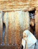 Western Wall Jerusalem. Woman praying at Western Wall in Old City of Jerusalem, Israel Royalty Free Stock Photos