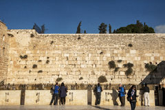 Western wall of Jerusalem Royalty Free Stock Photography