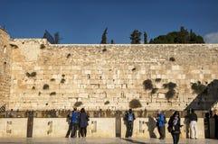 Western wall of Jerusalem Royalty Free Stock Photography