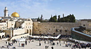 The Western Wall, Jerusalem, Israel Stock Images