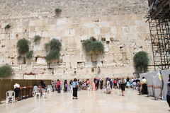 Western Wall, Jerusalem, Israel Royalty Free Stock Images