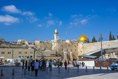 Western Wall, Jerusalem, Israel Royalty Free Stock Photos