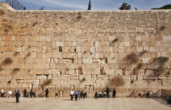 Western Wall in Jerusalem. Israel Royalty Free Stock Photography
