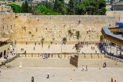 The Western wall, Jerusalem Royalty Free Stock Photography