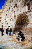 The Western Wall in Jerusalem, Israel Royalty Free Stock Photo