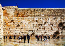 The Western Wall in Jerusalem, Israel Royalty Free Stock Photography
