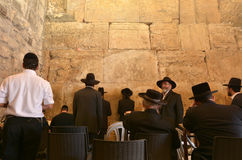 Western Wall in Jerusalem Israel Stock Images
