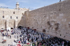 Western wall - Jerusalem - Israel Stock Images