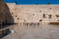 Western Wall, Jerusalem, Israel Stock Images