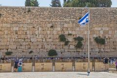 The Western Wall, Jerusalem Royalty Free Stock Photo
