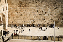 Western Wall, Jerusalem, Israel Stock Images