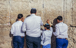Western Wall in Jerusalem Stock Images