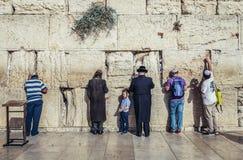 Western Wall in Jerusalem stock photos