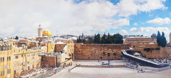 The Western Wall in Jerusalem, Israel Stock Image
