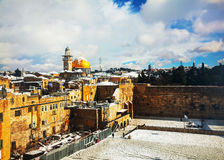 The Western Wall in Jerusalem, Israel Royalty Free Stock Image