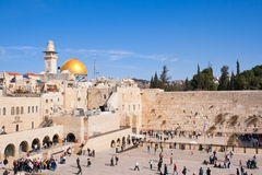 Western Wall Jerusalem Royalty Free Stock Photos