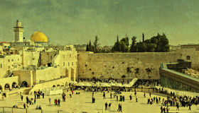 Western wall, Jerusalem Royalty Free Stock Images