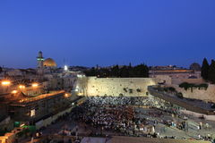 Western Wall, Jerusalem Royalty Free Stock Photography