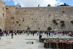 The Western Wall in Jerusalem Stock Image