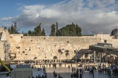 Western wall of Jerusalem Royalty Free Stock Photos