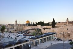 Western Wall or Kotel, Old City of Jerusalem, Israel Stock Image