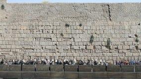 Western Wall in Mini Israel. stock video