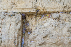The Western Wall in Old City of Jerusalem, Israel Stock Photography