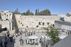 Western Wall Plaza Royalty Free Stock Photography