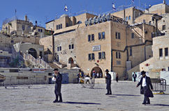 The Western Wall Plaza, Old Jerusalem Royalty Free Stock Photos
