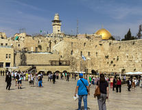 Western Wall Plaza, The Temple Mount, Jerusalem Stock Image