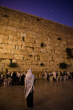 Western Wall prayer Royalty Free Stock Photography